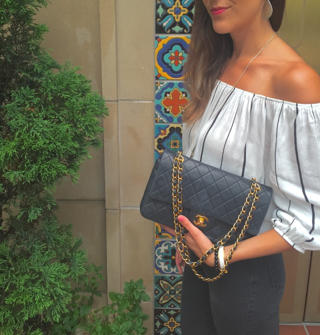 Keeping it Classy in an Off-the-Shoulder Top!