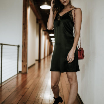 The Slip Dress for Simple Holiday Style